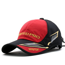 2017 Men Summer Caps Outdoor Fishing  Cap Solid Breathable Cotton Fishing Hat Hot Sell Hats