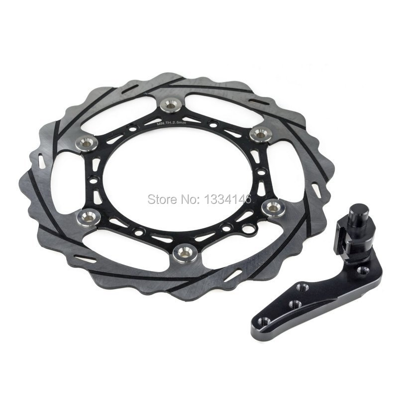270mm Oversize MX Brake Disc Rotor Kit For Husaberg FE 350 390/450/501/570 2009-2014 high quality 270mm oversize front mx brake disc rotor for yamaha yz125 yz250 yz250f yz450f motorbike front mx brake disc