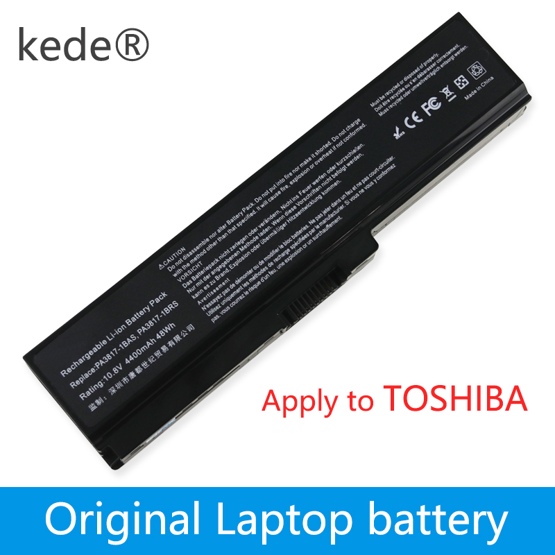 Kede Original Laptop Battery For TOSHIBA L630 L650 L645 L655 L600 L700 L730 L735 L740 L745 L750 L755 PA3817U-1BRS PABAS228