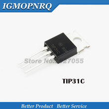 10PCS TIP31C TO220 TIP31 PARA-220 NPN darlington 3 a100v 65 w