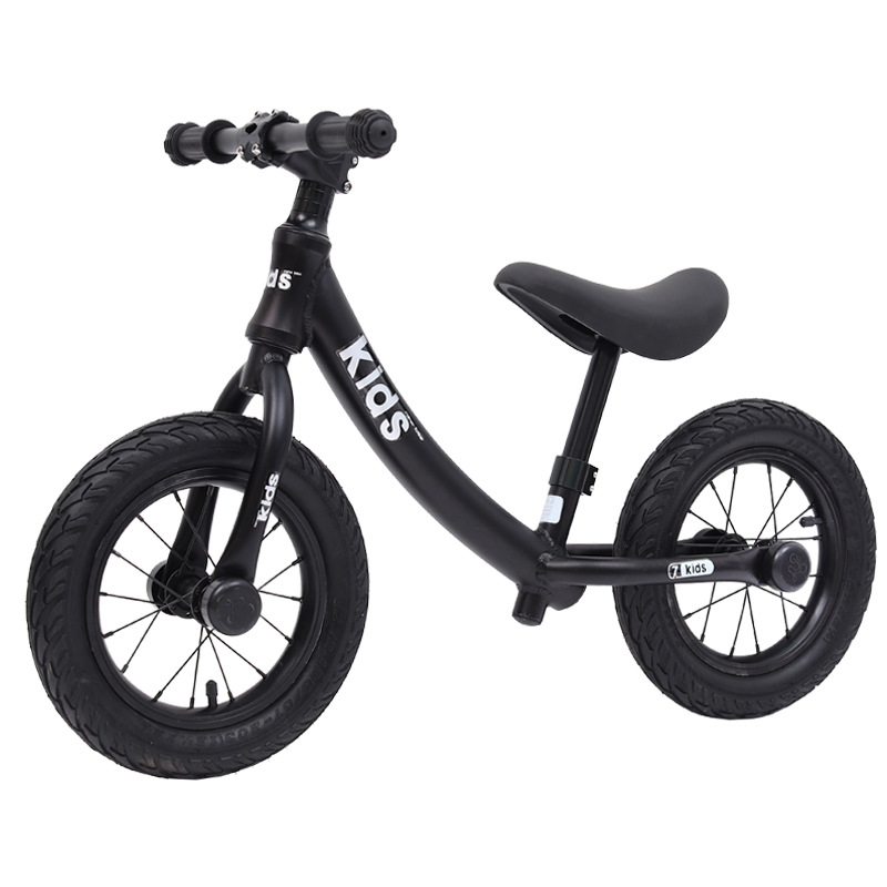 12 Inch Aluminum Balance Bike Toddler No Pedals For 2 – 6 Year Old, 2 Wheel 4