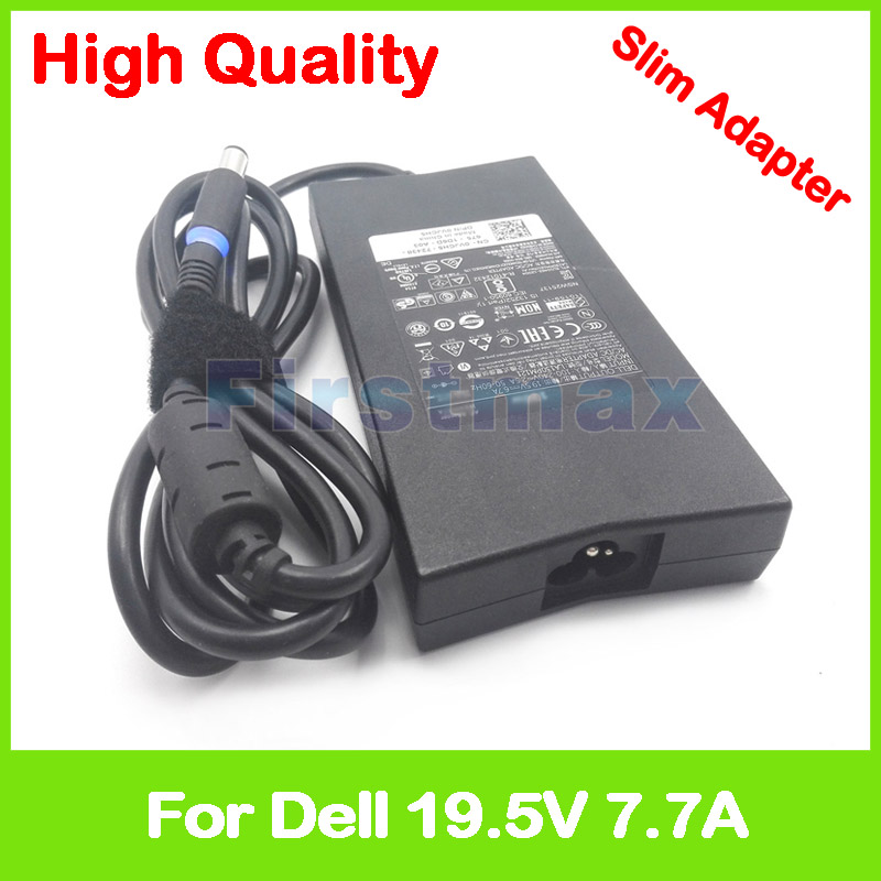 Mince 19.5 V 7.7A 150 W AC adaptateur de courant pour ordinateur portable chargeur pour Dell Alienware M14x R1 R2 R3 R4 14 R1 P39G001 14D A14 ALW14D PA-5M10