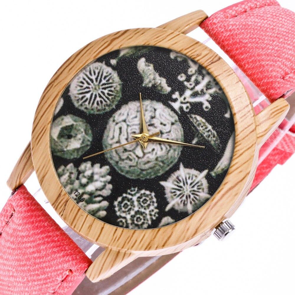 Watch Wooden Clock Case NEW for Relogio Feminino Masculino Casual Fashion