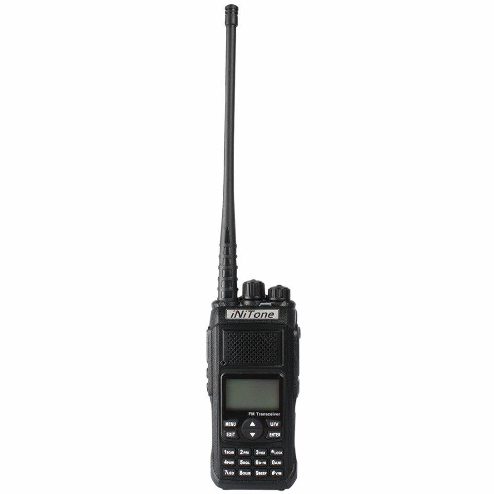 2x radio bidireccional iNiTone HT-568 10W Banda dual V-U 136-174MHz / 400-470MHz Portátil jamón Radio FM Transceptor walkie talkie