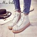 Cheville bottes новая женщина прохладно сапоги женская обувь Летняя мода толстый каблук круглым носком ботинки женщин обувь одного женщина случайные обуви
