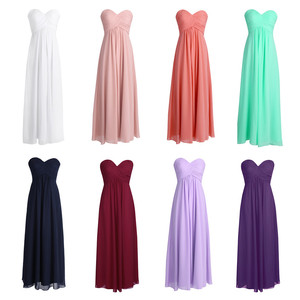 Image 5 - TiaoBug ELegant Women Petals Dress Chiffon Bridesmaid Dress Pageant Tulle Formal Party Princess Formal Prom Summer Maxi Dress
