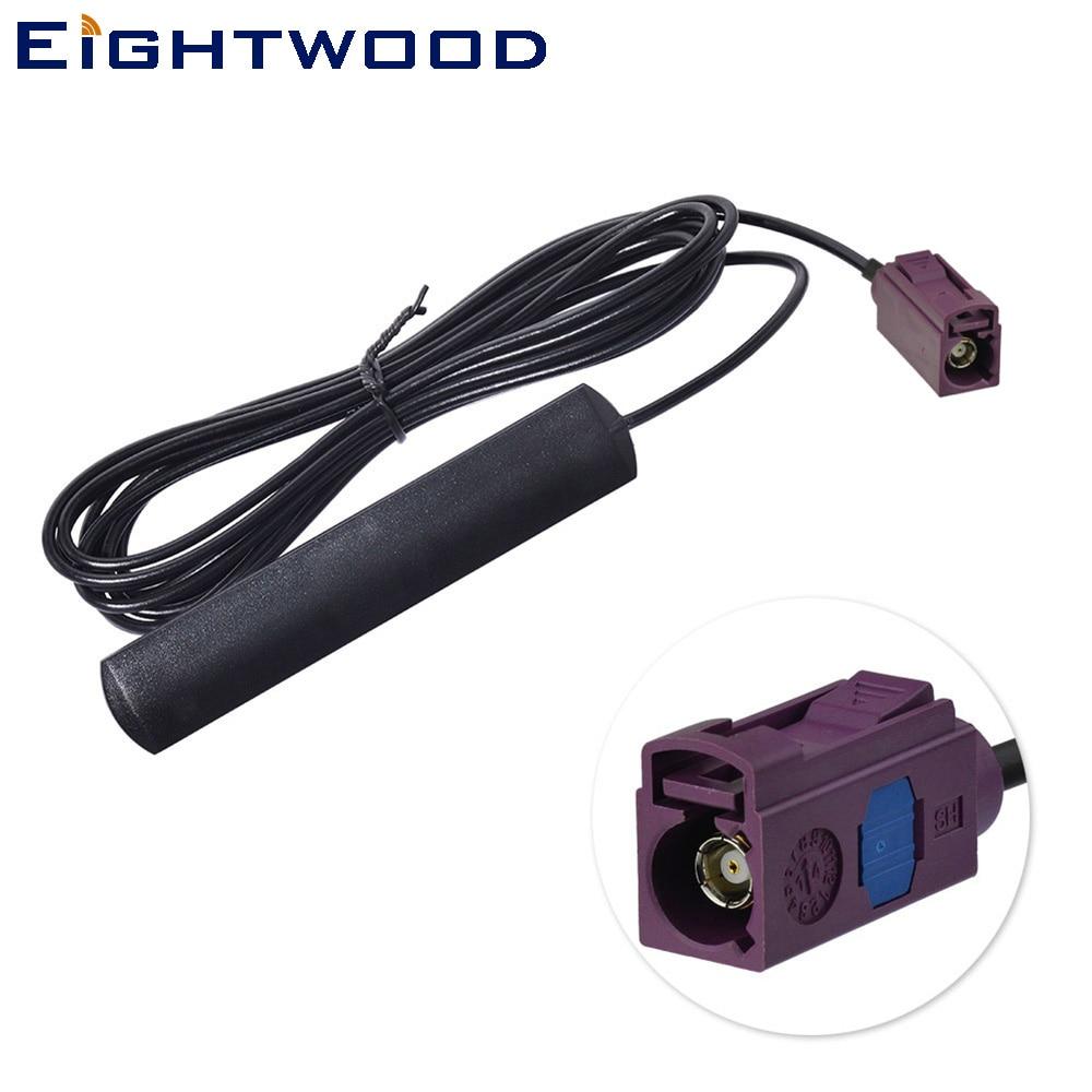 Eightwood 824-960 mhz GSM Coller Externe Antenne avec Fakra D Connecteur De Voiture Automobiles antenne