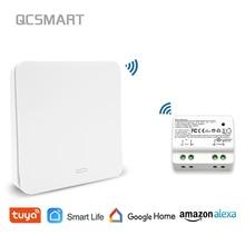 Tuya Smart Life WiFi переключатель с RF Kinetic автономный пульт дистанционного управления беспроводной переключатель, Alexa Echo Google Home Голосовое управление