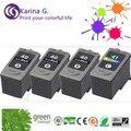 4PK  for PG-40 CL-41 Black&Tr-color Ink Cartridge For  iP1200 iP1300 iP1600 iP1700 iP1800 iP2200 iP2400 printers