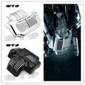 Cromo Negro Stock Cubierta Enfriador de Aceite En Forma para Harley Touring Electra luz de Calle del camino Se Desliza 2011 2012 2013 2014 2015 11-15 11 12 13