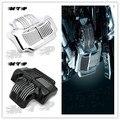 Cromo Preto Estoque Refrigerador De Óleo Cover Fit para Harley Touring Electra Rua estrada Desliza 2011 2012 2013 2014 2015 11-15 11 12 13