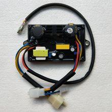 5kw Diesel или бензиновый генератор электрический сварочный аппарат двойной использовать AVR Автоматический регулятор напряжения 10 провода 2 пробки