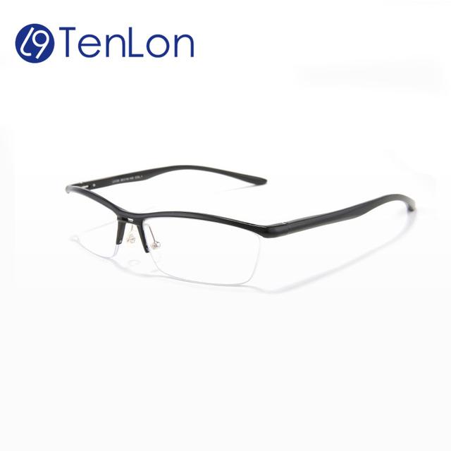 TenLon абсолютно Алюминиевые Магниевого Сплава очки Кадр очки мужчины безопасности очки супер качество óculos де грау женщина для
