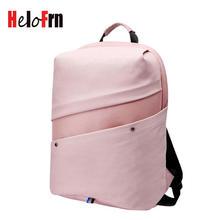 HeloFrn Casual Backpack Female Pink USB Laptop Women Canvas For Girl Teenagers Student Men Bag pcak Watreproof Mochila