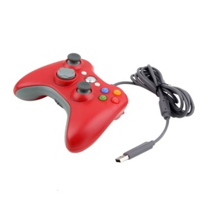 Image 3 - USB Wired Gamepad For Microsoft Xbox 360 Console Wired Controller Joypad Joystick Black White Red Blue For PC Game Joystick