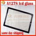 10 unids/lote nuevo perfecto para macbook pro 13.3 ''pantalla lcd frontal de vidrio de la pantalla A1278 2008 2009 2011 2012 2013 año
