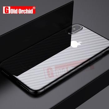 4D Полный Задняя крышка Экран протектор для iPhone 6 7 8 плюс не скользит Плёнки на задней части для iPhone 6 7 8 x сзади Плёнки не Стекло