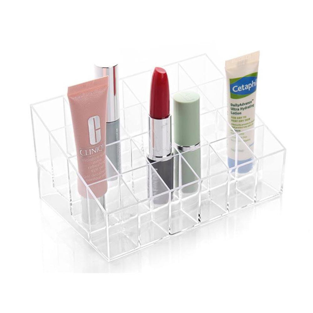 Exhibition Stand Organizer : Lipstick holder display stand acrylic cosmetic