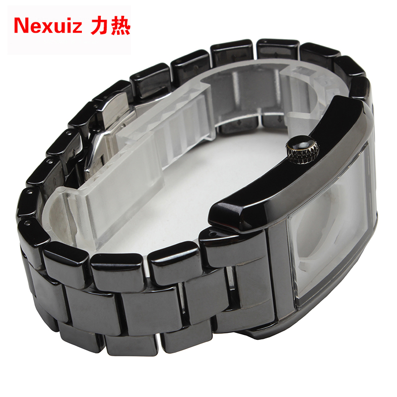 22mm NEW Watchbands,High Quality Ceramic Watchband  black Diamond Watch fit AR1406  Man watches Bracelet  watch strap WATCHBAND new watchbands 18mm high quality ceramic watchband black diamond watch fit ar1412 women watches bracelet watchband