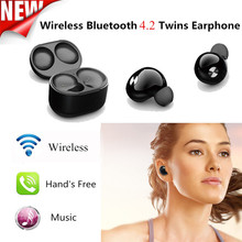 IP010 Bluetooth Earphones Mini Wireless Handfree Headsets 3D Stereo with Charging Box for Xiaomi for iphone 7 all Smartphones