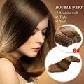 Brasileiro virgem cabelo liso 5 Bundles não transformados Brazillian virgem cabelo Mix cabelo virgem molhado e ondulado