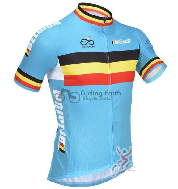 Free shipping! Belgium 2014 short sleeve cycling jersey bbb shot, bike bicycle wear clothes jerseys bbb Z123 set
