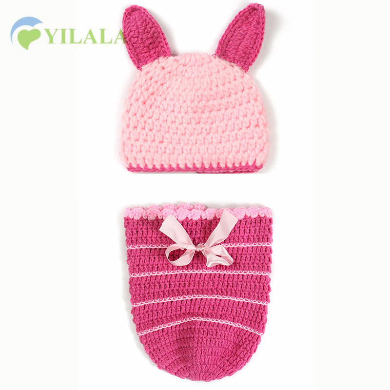 Accessories Mother & Kids 2017 New Knitted Hat Beanies Baby Cap Newborn Hat Baby Lovely Flower Handmade Crochet Knitting Cap Cartoon Photography Props
