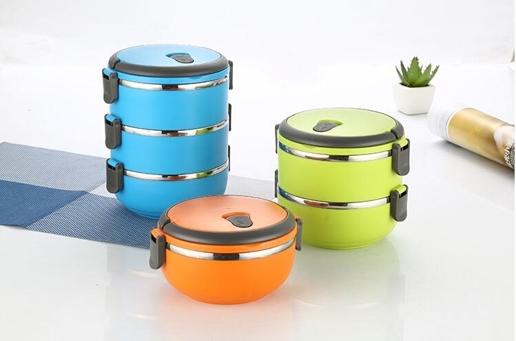 Buy 1 4 layer modern lunch box for Zaffron kitchen set lunch