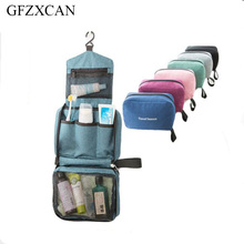 Men and women linked to wash cosmetic bag portable large capacity waterproof travel essential storage bag cosmetic bag все цены