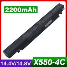 2200 mah laptop akku für asus a41-x550a x550 x550c x550cc a450 a550 F450 F550 F552 K450 K550 P450 P550 R409 R510 X450 X452C