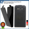 Top quality new style flip PU leather case open up and down for Samsung Galaxy Grand Prime VE SM-G531F SM-G531H, gift