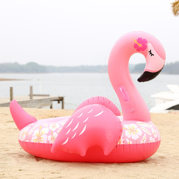 Inflatable Flamingo Swimming Float Sleeping Beauty Tube Raft Adult Giant Pool Float Swimming Ring Summer Water Fun Circle Toys mattress