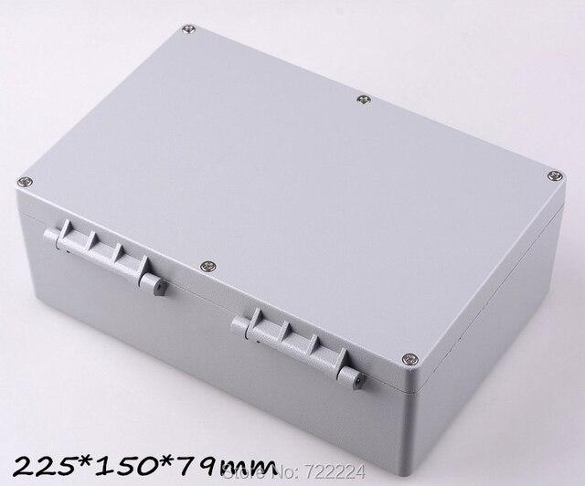 2 Pz 225 150 79mm Ip68 Scatola Di Alluminio Per Elettronica Fai Da