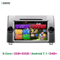 Lenvio RAM 2GB 32GB Octa Core 2 Din Android 7 1 CAR DVD Player For Toyota