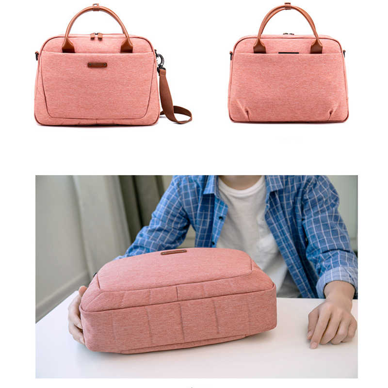 Водонепроницаемая сумка для ноутбука чехол для 14 15 15,6 дюймов повседневная женская сумка для ноутбука для Macbook Pro 15 Xiaomi hp сумка-мессенджер