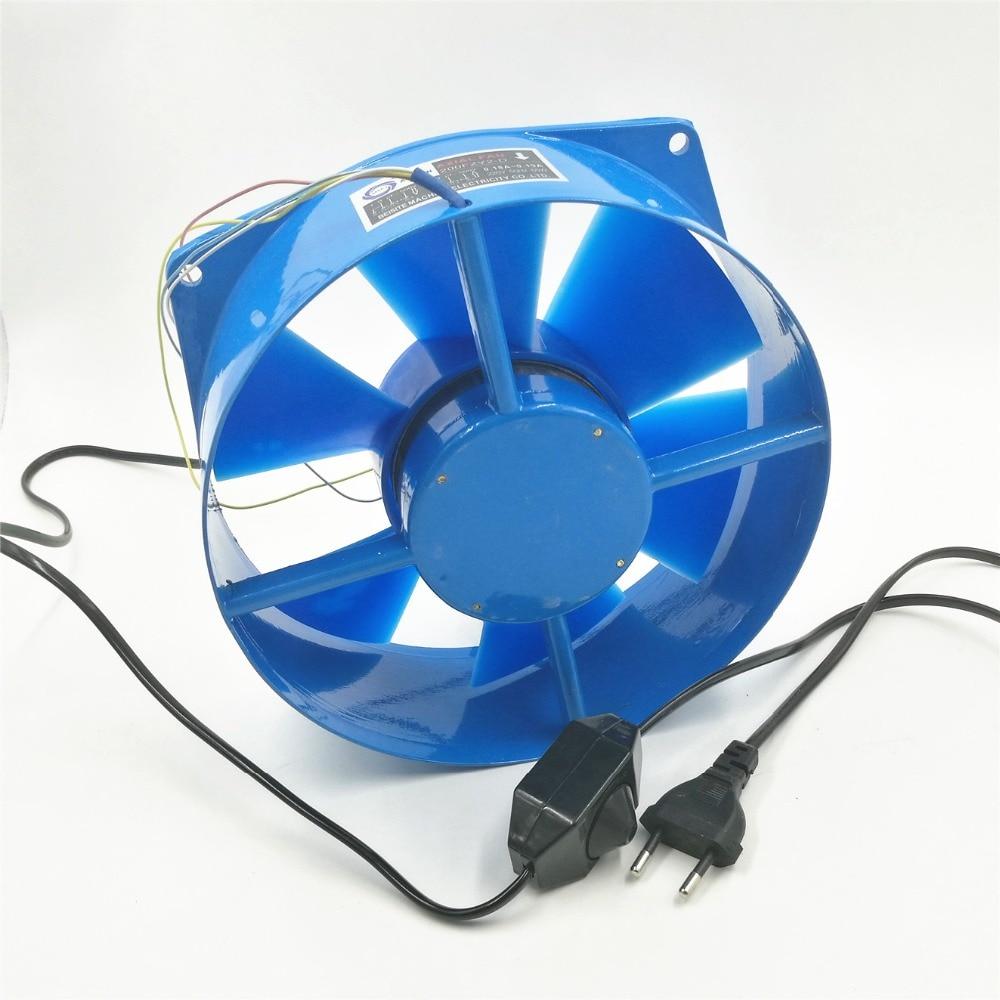 Ventilateur Axial ventilateur 200FZY2-D simple bride AC220V 0.18A 65 W ventilateur boîte électrique ventilateur de refroidissement réglable direction du vent et vitesse du vent