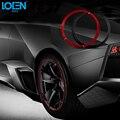 8 M/pc Rodas Do Carro Estilo Do Carro Adesivos Aro Do Pneu anel de aço de proteção para a toyota vw polo chevrolet hyundai ford kia todos os carros e36
