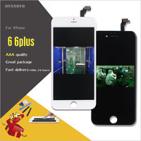 Ovsnovo 100 Test AAA Touch Screen For IPhone 4s 5 6 6p 6s LCD Display Complete