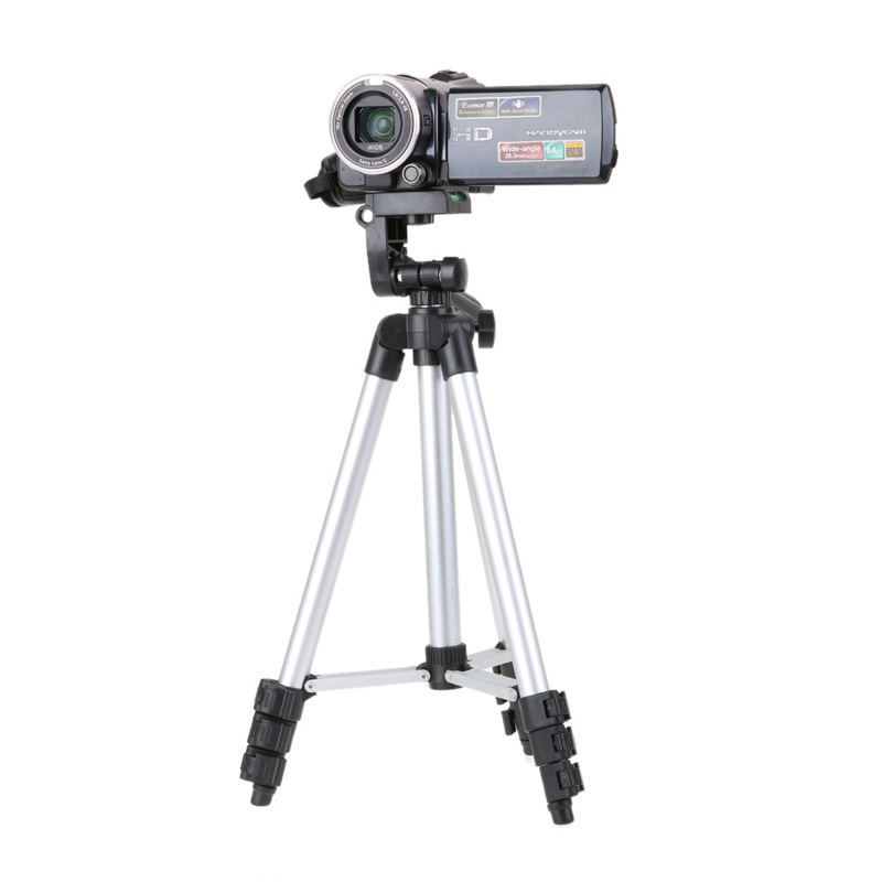 Lightweight Aluminum Professional Telescopic Camera Tripod Stand Holder For DSLR Canon Nikon Sony DSLR Camera Camcorder Tripod wt3110a 40 inch aluminum tripod stand for camera dslr camcorder