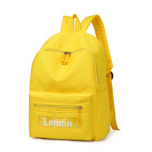 2019 summer new Japanese double shoulder bag candy color student large capacity backpack