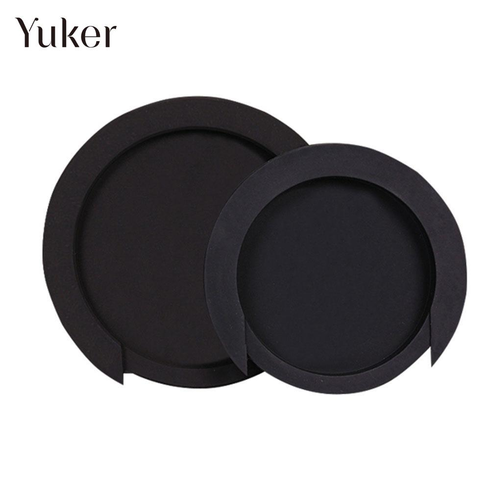 Black Acoustic Guitar Sound Hole Cover Soundhole Rubber Mute for 38/39 41/42 s46240mb3sl4lv0 4 s46240mb3sr4lv0 4 lcd panel pcb parts a pair