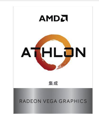 Nouveau processeur d'unité centrale Quad-Thread double cœur AMD Athlon 200GE X2 200GE 3.2 GHz YD200GC6M2OFB Socket AM4 avec ventilateur refroidisseur