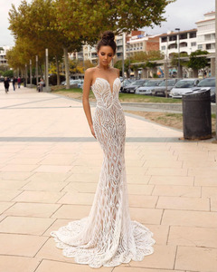 Image 2 - Eslieb Gelin Elbiseleri Wedding Dress 2019 Gelinlik Wedding Dresses Mermaid Sweetheart Vestido de Noiva Bruidsjurken