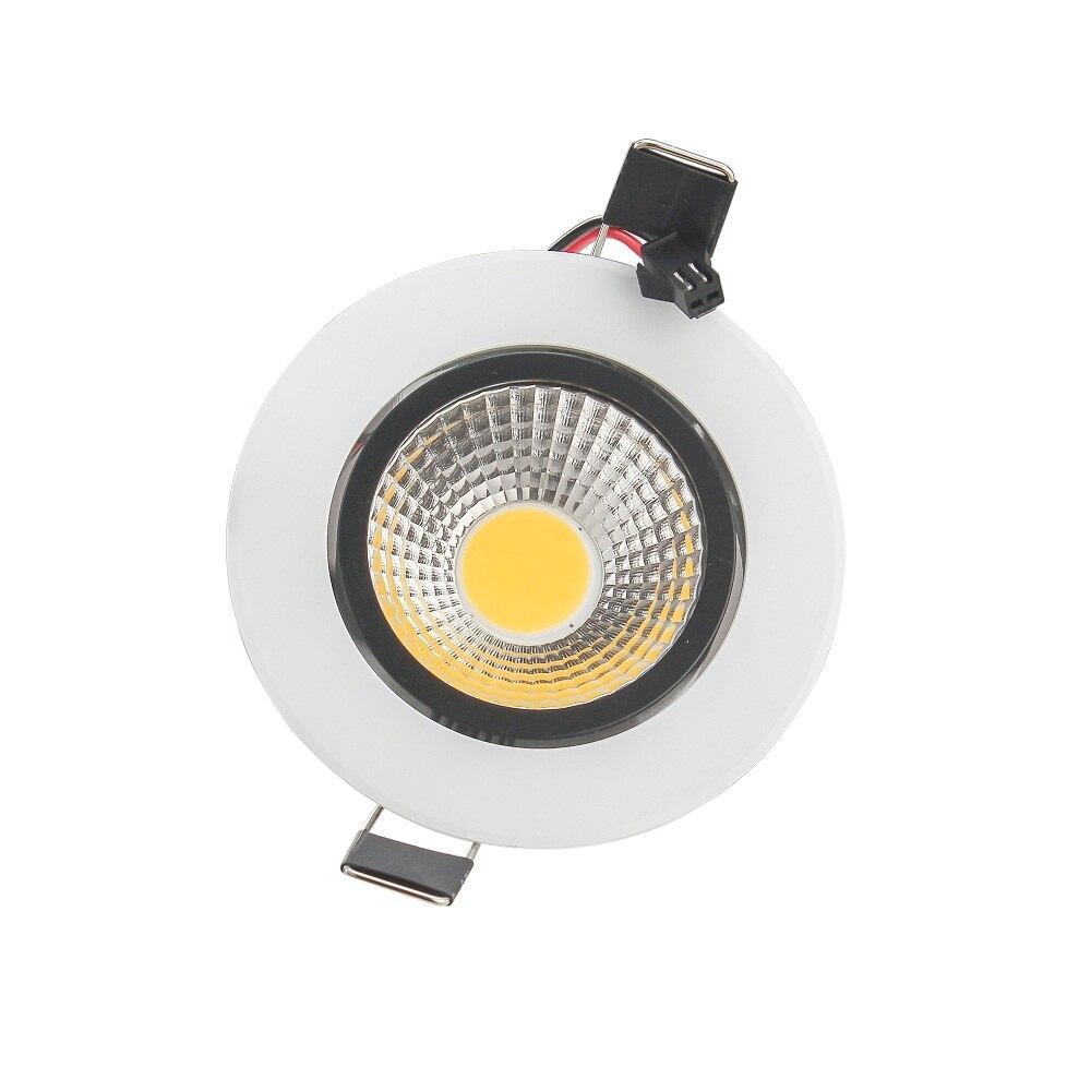 1 шт. затемнения удара встраиваемые светодиодные светильники удара 6 Вт 9 Вт 12 Вт 15 Вт приглушить свет светодиодная лампа потолка AC 110 В 220 В
