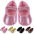Lindo Mocasín Zapatos Bbay Niño Soft Sole 4 Colores Baby Girl Shoes Primeros Caminante Prewalkers Primeros Caminante Ocasional