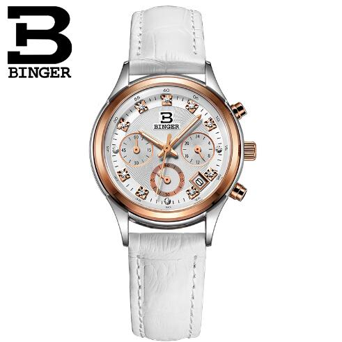 Здесь продается  Switzerland Binger Fashion Sports Quartz Watches Women Waterproof Shockproof Watch Woman Chronograph Wristwatches relojes  Часы