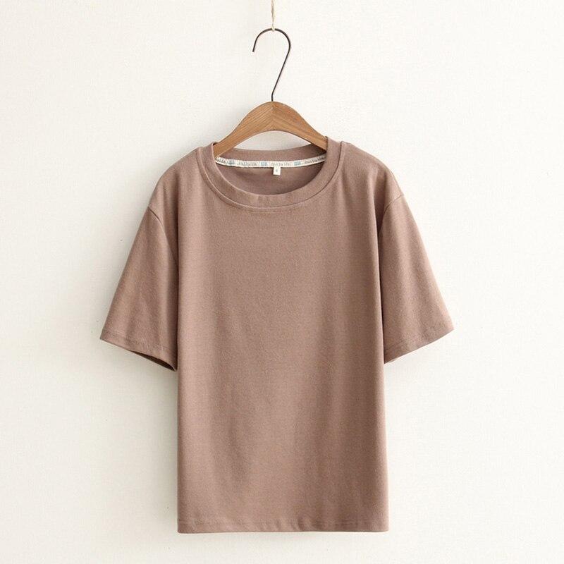 Basic Weiß-t-shirt Frauen Einfachen T-shirt Frauen Schlichten Schwarzen Hemd Frau Harajuku T-shirt Femme Casual Tops