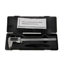 Wholesale prices 0-200mm/8inch Stainless steel Electronic Digital Vernier Caliper paquimetro calipers metal casing digital caliper