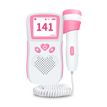 Fetal Doppler Detector Portable Household Pregnant Baby Ultrasound Heartbeat Sound Monitor No Radiation Stethoscope 12 week недорого