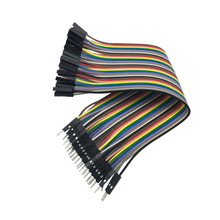 Raspberry Pi 3 Dupont Lines Male To Female 30cm 40Pcs 2.54mm 1p-1p Pin Dupont Jump Wire Cable Line For Orange Pi One